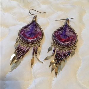 These are absolutely gorgeous string earrings